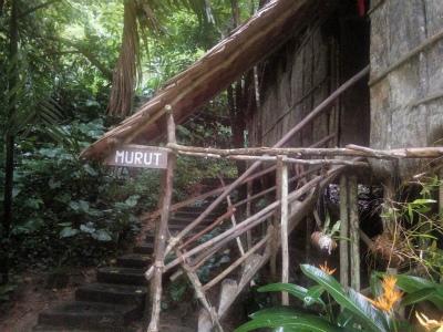ムルッ族の家