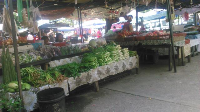 ドンゴゴンのマーケット