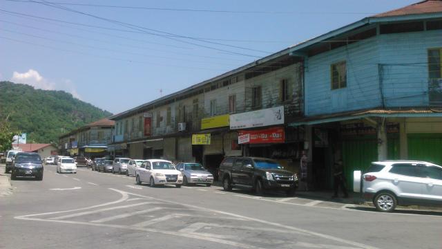 タンパルリの古い町並み