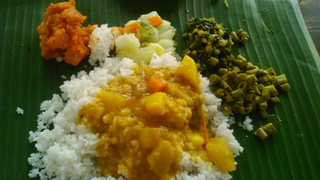 Sri Latha スリラタのバナナリーフカレー
