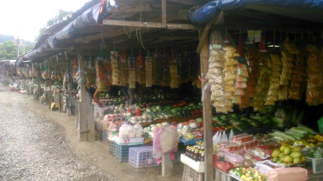 クンダサンのマーケット