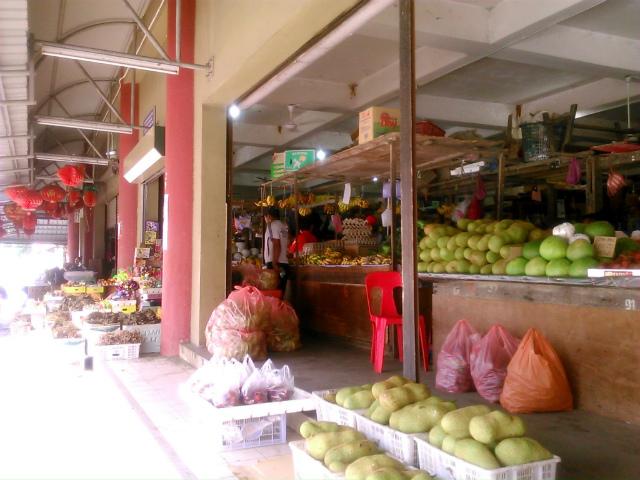 ビューフォート駅付近のマーケット