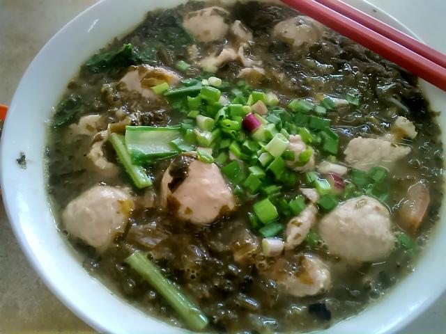 ハムチョイ麺 Ham Choi