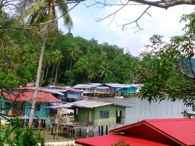 難民が住む集落