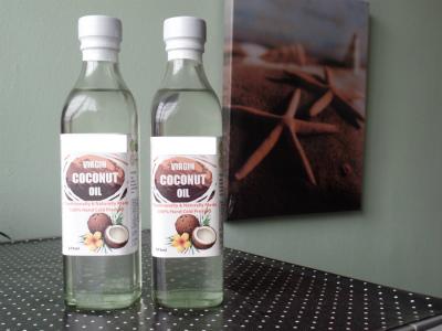ボルネオ島産ヴァージンココナッツオイル