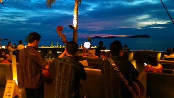 コタキナバルの夕陽