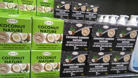 人気のココナッツ石鹸