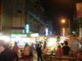 夜市その2。油出る食い物が多いのでウェットティッシュ必須。