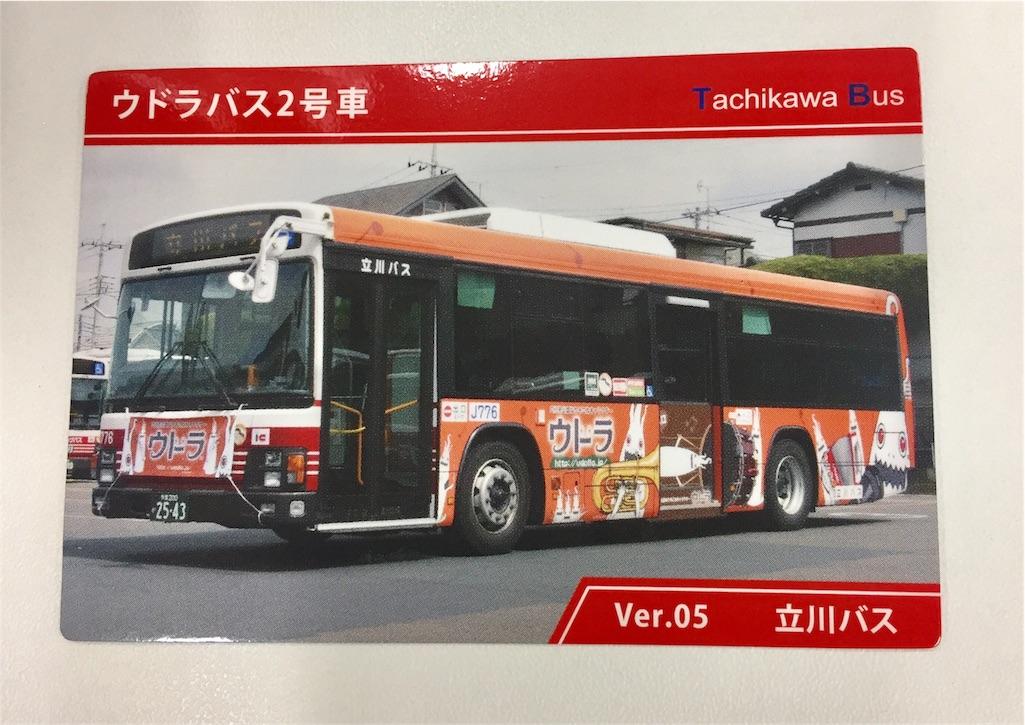 オマケのバスカード