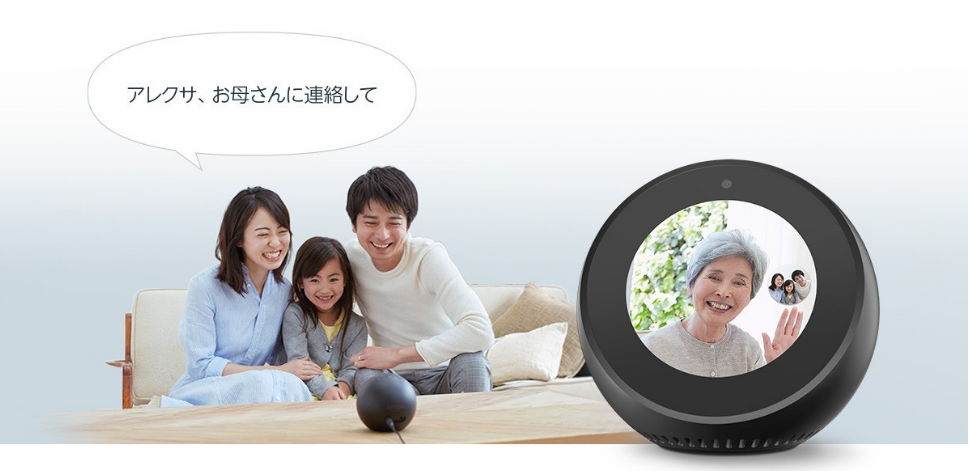 Echo Spotでビデオ通話
