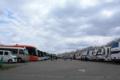 [旅行]角館 バス駐車場