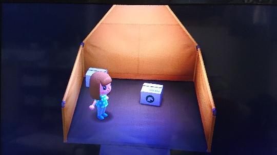 キャンプの内部画像