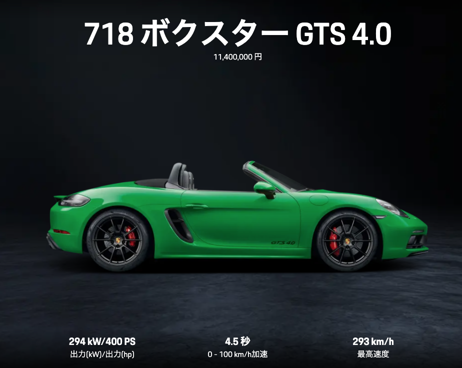 boxster gts4.0