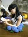 カプセルQフロイライン ビブリア古書堂の事件手帖 栞子さん表紙画胸像