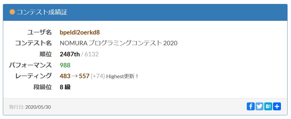 NOMURA2020_result