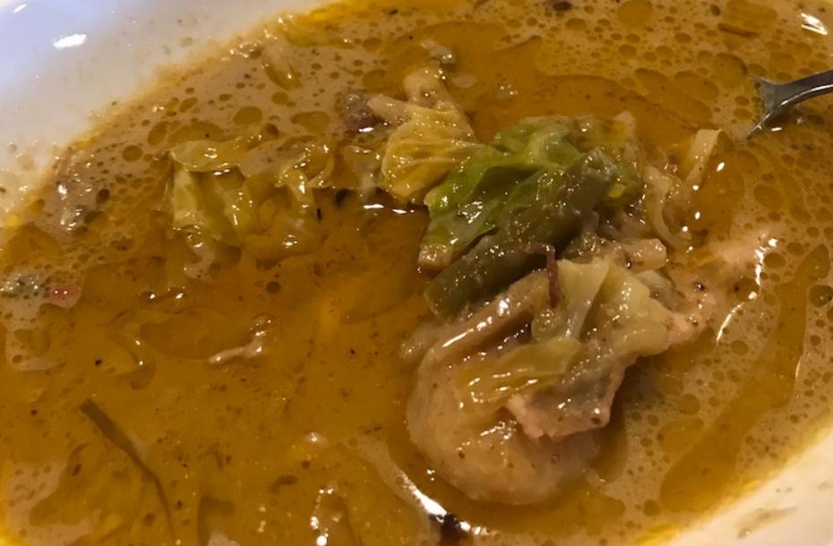ラサペナン(Rasa penang):鶏のグリーンカレー