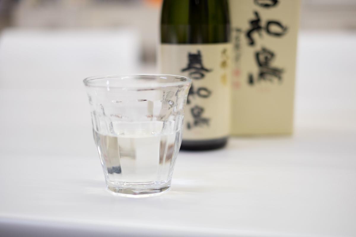西田酒造「善知鳥」グラス