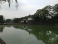 江戸城内堀(大手門高麗門)