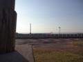赤丸のあたりが座頭市の住居跡(現在は海面)