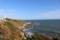 高浜虚子の歌に詠まれている犬吠崎の灯台と銚子の海