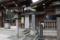 寄席発祥之地碑(下谷神社/東京都台東区)と正岡子規の句碑