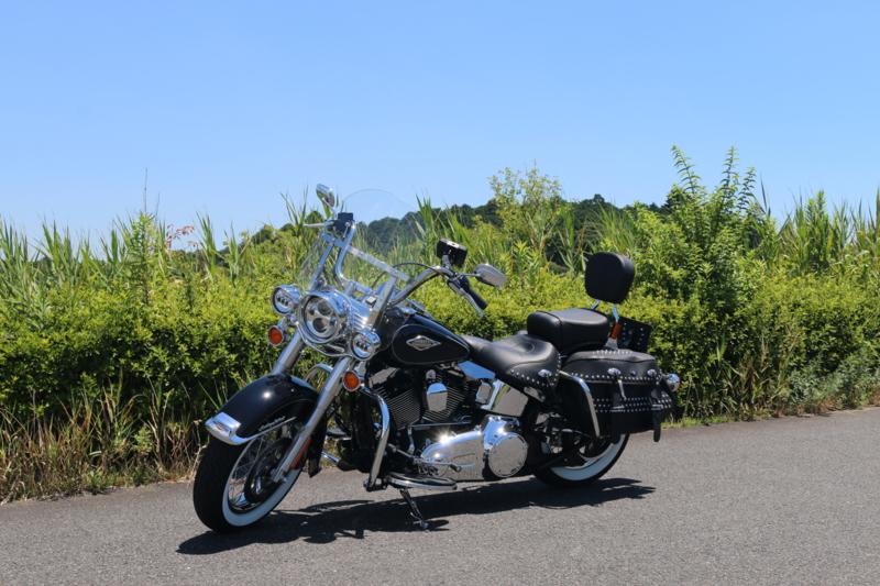 バイクは生き様で乗るもの...Harley Davidson