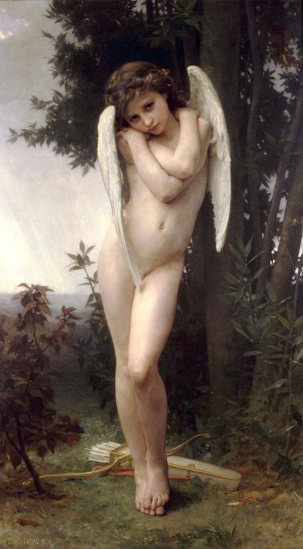 ブグロー作「キューピッド」(1875年)