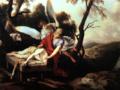 「イサクを捧げるアブラハム」(ローラン・ド・ラ・イール)