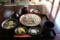 千葉県産そば粉100%の十割そばのランチセット「明治御前」(980円