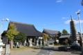 打越光隆が龍源寺開基にあたり和尚を招聘した長国寺(茨城県潮来市)