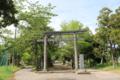 鹿島神社から分祀された鹿島吉田神社(新宮)