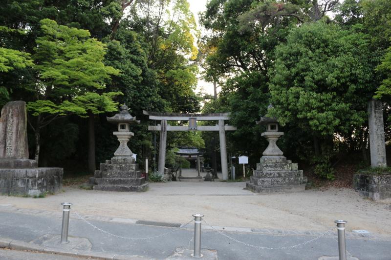 宝生座発祥の地である月読神社(京都府京田部市)