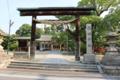 金剛流発祥の地である龍田神社(奈良県斑鳩町)