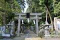宝生流発祥の地である宗像神社(奈良県桜井市)