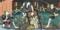 三代目歌川豊国「東海道四谷怪談」の「砂村隠亡堀の場(戸板返し)」