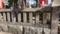 吉原神社の玉垣には福助・歌右衛門の名が(八ツ橋は成駒屋のお家芸)