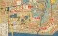 裏浅草に隣接する新吉原と江戸三座(中村座、市村座、守田座)