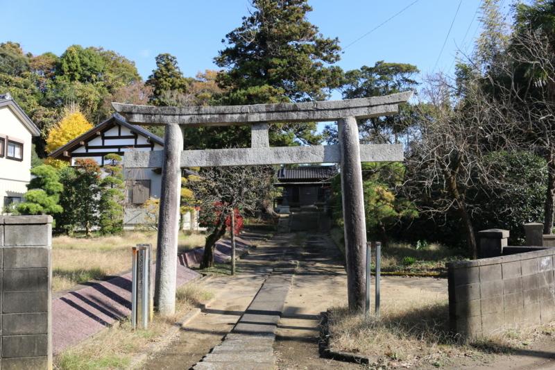 1600年代に創建され、新宮城の後方に面する淡島神宮(茨城県行方市)