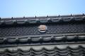 楠木正家が建立した恵林寺の瓦屋根には菊水紋の家(寺)紋