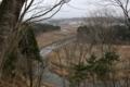 唐松城跡から見る唐松野