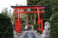 源義家(打越氏の祖である源義光の兄)が修復した唐松神社