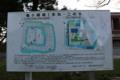 酒田東高校の正門横にある城郭図