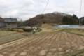 芋川支流にある内越館跡(公園になっています)