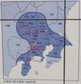 北国軍(打越氏を含む)は信州松代城で落合い碓氷峠から侵攻