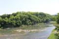 荒川岸にある鉢形城