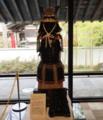 親川の楠(木)氏に伝わる菊水紋の甲冑(但し、後世に作られたもの)