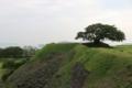 肥前名護屋城の天守閣跡