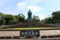 鹿児島空港前にある西郷隆盛像