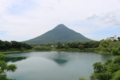鹿児島半島の最南端にある開聞岳