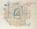 郡山城之城下町絵図 ※「オリジナルサイズを表示」で拡大